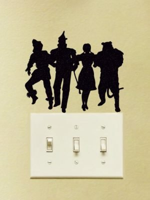 Wizard of Oz characters Wall Sticker