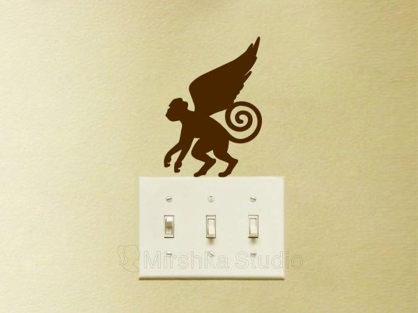 Wizard of Oz light switch sticker