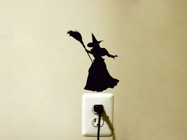 Wizard of Oz wicked witch of the west wall sticker