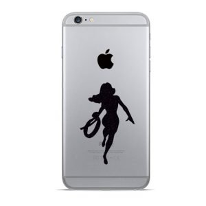 Wonder Woman iphone decal