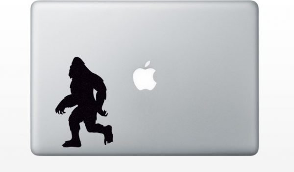 Yeti macbook sticker