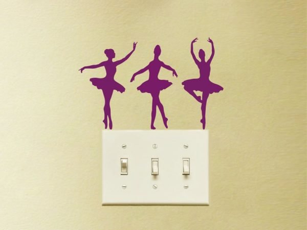 ballet dancers decals