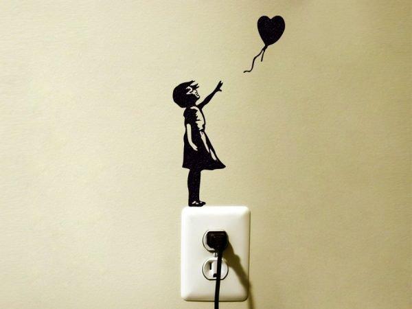 banksy balloon girl art
