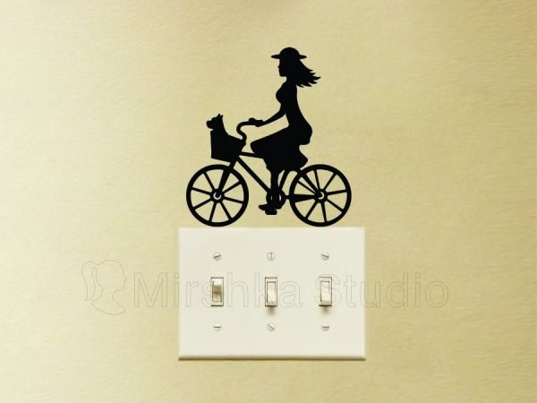 bicycle stickers decor
