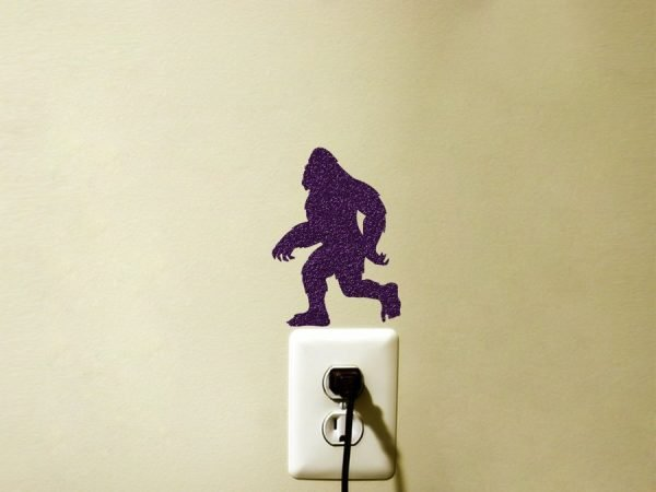 bigfoot wall decor