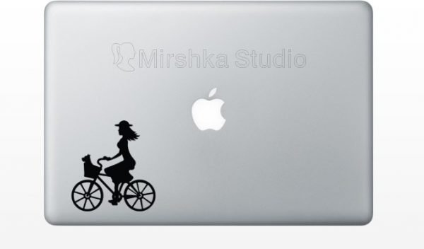 bike laptop sticker