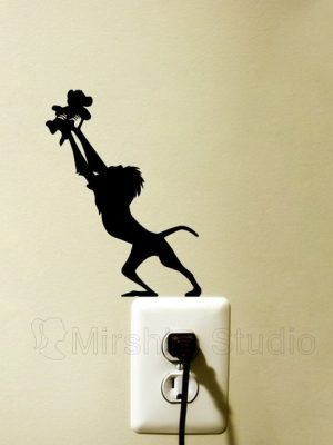 circle of life lion king sticker
