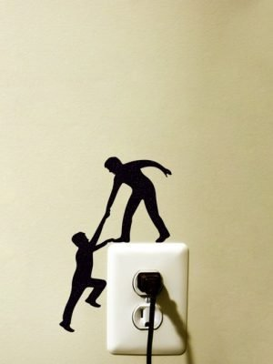 climbing men wall art