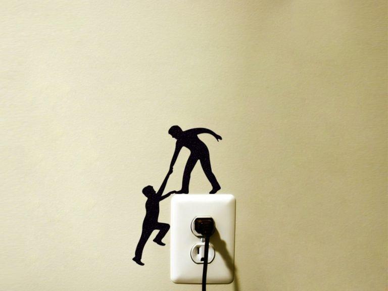 climbing men wall art
