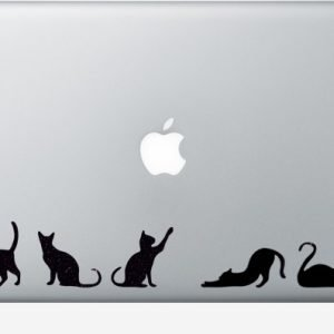 clowder of cats stickers