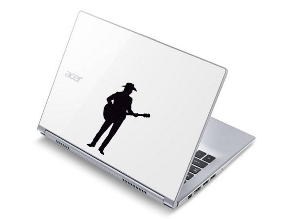 country music laptop sticker