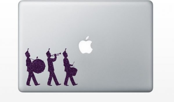 drummers laptop decal