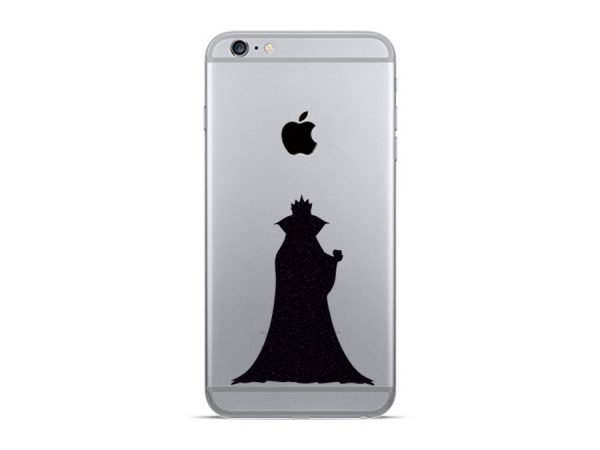 evil queen iphone sticker