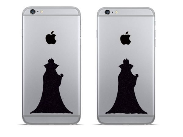 evil queen snow white phone decal