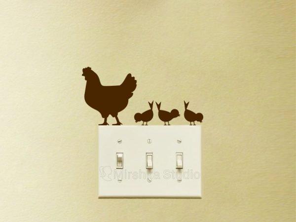 farmhouse hen decor