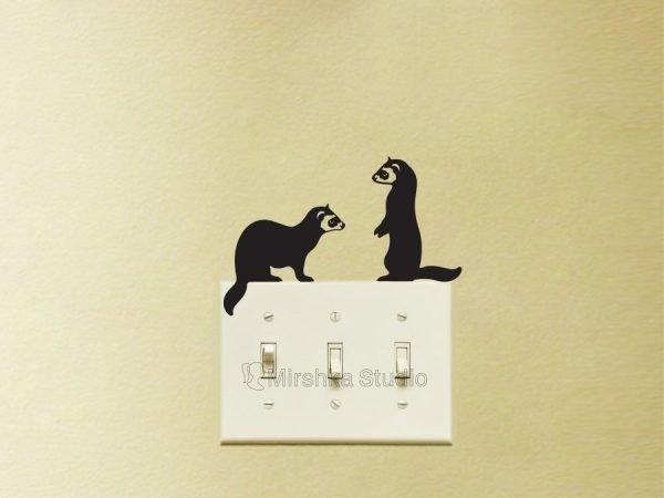 ferret stickers