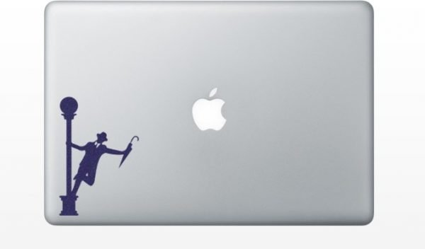 gene kelly computer decal