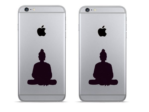 gift for yogis phone decal