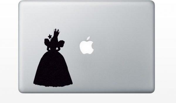 glinda macbook sticker