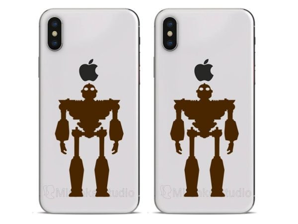 iphone 10 robot stickers