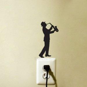 jazz art sticker