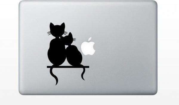 kittens macbook sticker
