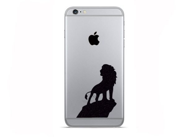 lion king iphone decal