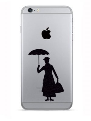 marry poppins stands iphone sticker