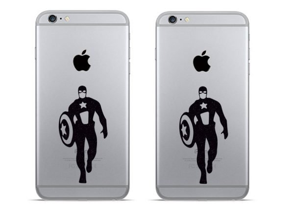 marvel superhero phone stickers
