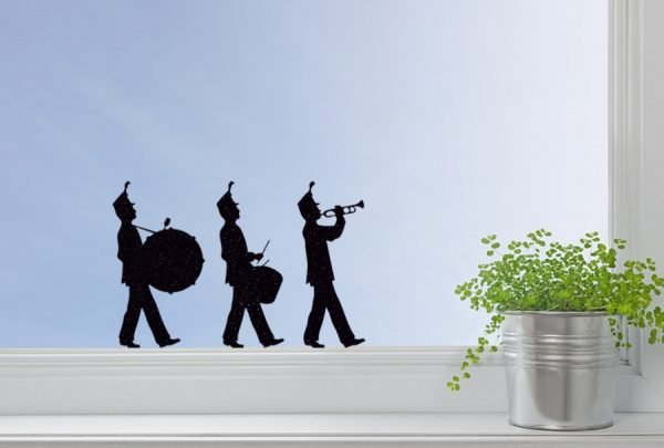 music window sticker