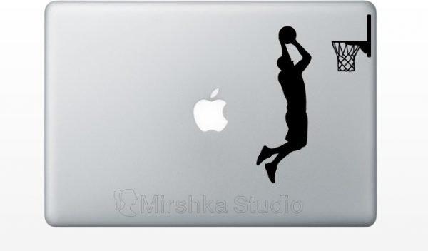 nba basketball player decal