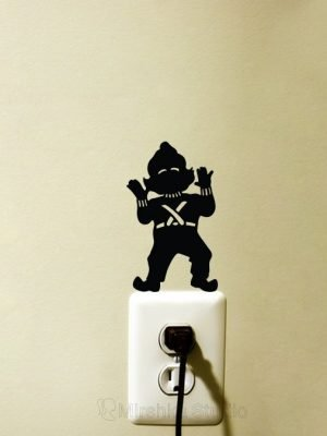 oompa loompa light switch sticker