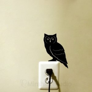 owl home decor decal