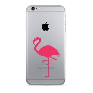 pink flamingo iphone decal