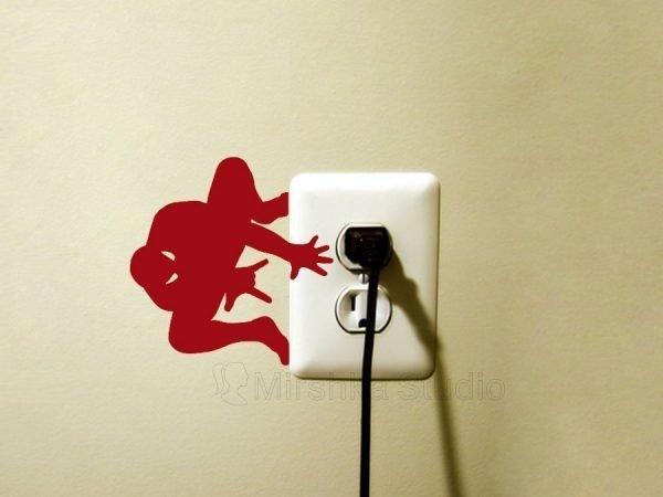 red Spider Man boy room wall decor