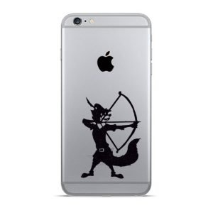 robin hood iphone sticker