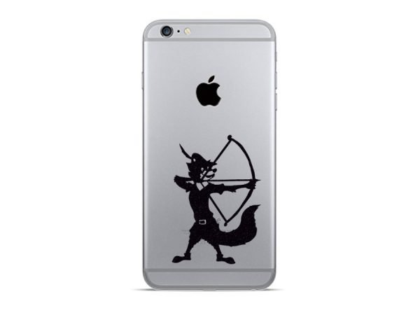 robin hood iphone sticker