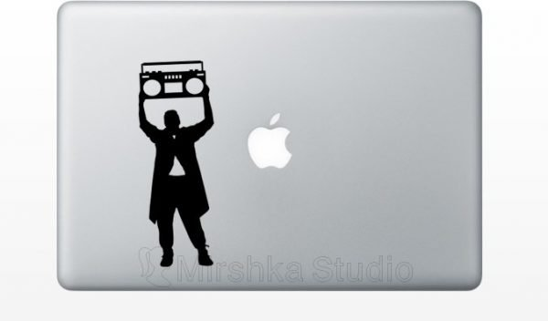 say anything macbook decal