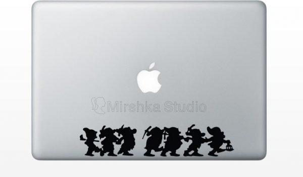 snow white 7 dwarfs mac decor