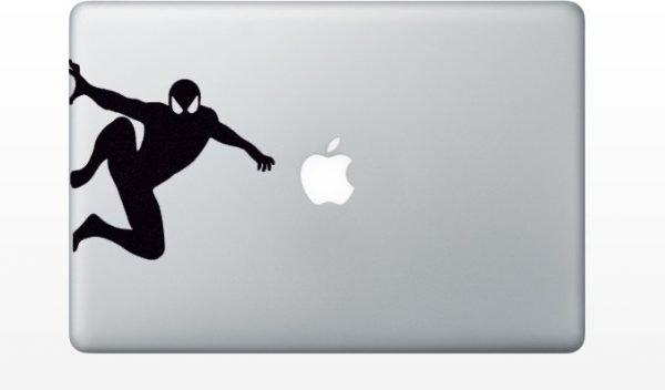 spider macbook sticker