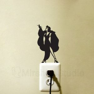 stickers for kids room - Cruella de Vil Light Switch Sticker