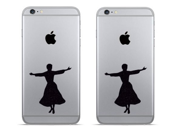 the sound of music iphone stickers decals