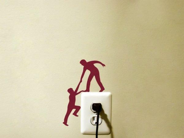 two climbers sticker