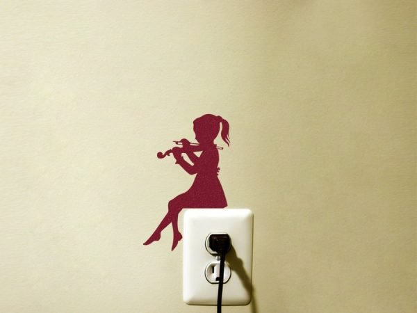 violin wall art decor