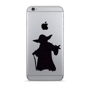 yoda iphone sticker