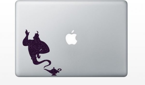 Genie in a bottle mac decal