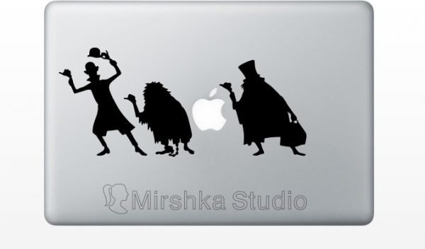 Haunted Mansion mac decal