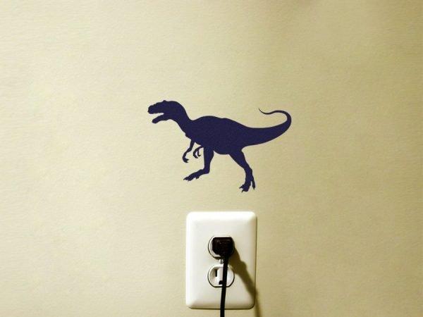 Jurassic Park Dinosaur sticker