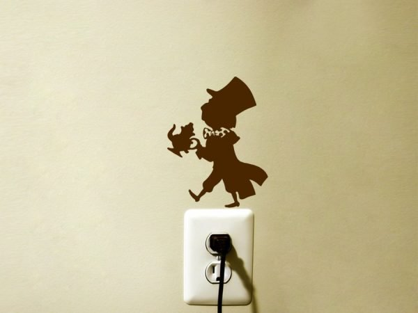Mad Hatter Alice decal