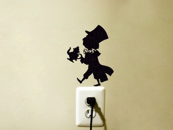Mad Hatter Alice in Wonderland sticker
